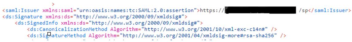 La signature dans le monde de l'authentification SAML